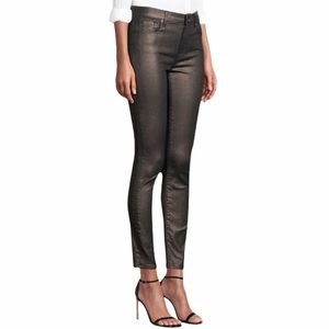 7 For All Mankind   Ankle Skinny Jeans Gunmetal